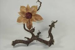 gedrechselte Blüte