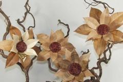 gedrechselte Blüten
